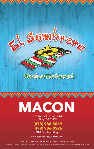 El Sombrero Macon Location